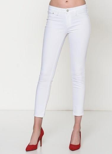 Mavi Jean Pantolon   Adriana Ankle - Super Skinny Beyaz